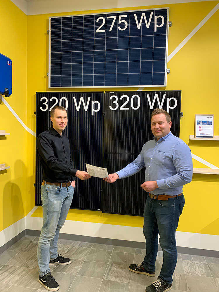 Imatran Seudun Sähkö toimittaa aurinkovoimaloita avaimet käteen -palveluna yhteistyössä Elektrowayn kanssa